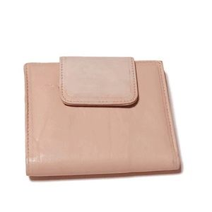 Buxton cream leather bifold Waller